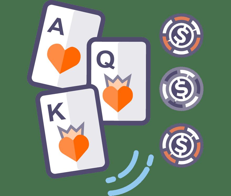 Poker Tiga Kad Kasino Bergerak Terbaik pada tahun 2021